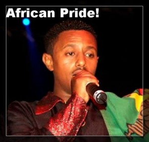 Tedy Afro Afrcan pride