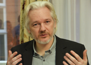 Julian Assange has been holed up in the Ecuadorian embassy for over two years [Reuters]