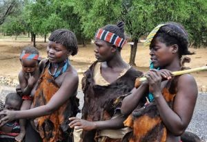 Tesemay Tribe members in Ethiopia's Omo Valley Photo Rod Waddington via Flickr.com.