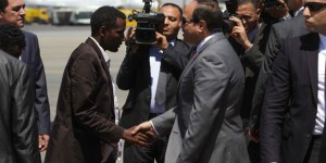 Egyptian leader defends Nile rights in Ethiopia's Parliament 1