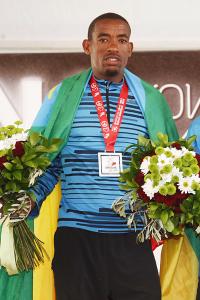 Ethiopian marathon runner Abdela Godana Organisers IAAF