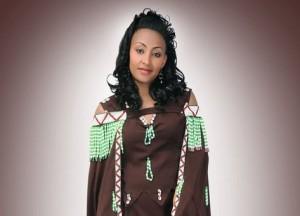 Oromo singer, Hawi photo globalvoice