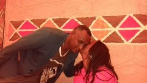 Habtamu Ayalew and his wife - photo by Befeqadu Hailu