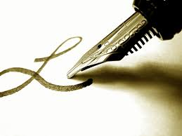image - a pen
