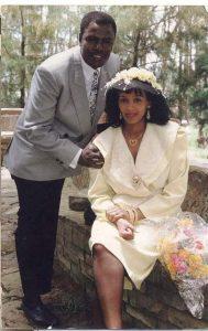 Niguse Gebire with his wife Yetmwork JakamaKelo