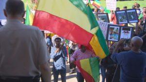 Ethiopia protest in winnipeg