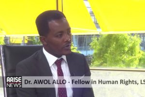 Dr. Awol Kassim Allo speaks to the ARISE NEWS on the current protests [Video]