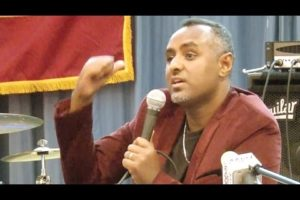 Must watch: Habtamu Ayalew's speech Video]
