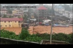 Sierra Leone: hundreds feared dead in massive mudslide after heavy rain in Freetown (Video)